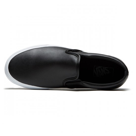 Vans Classic Slip-On Shoes - Tumble Black - 8.0