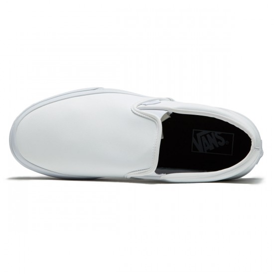 Vans Classic Slip-On Shoes - True White - 8.0