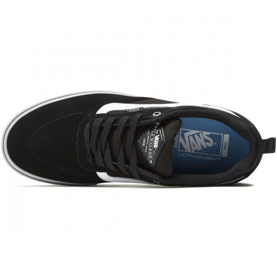 Vans Kyle Walker Pro Shoes - Black/Frost Gray/White - 8.0