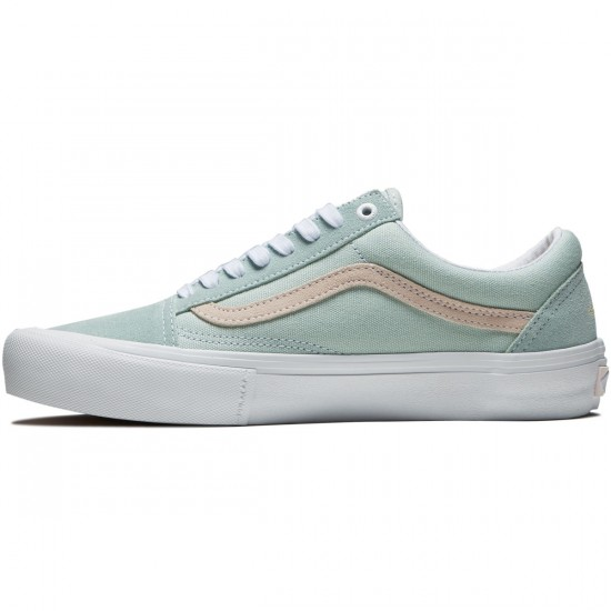 Vans Old Skool Pro Shoes - Danlu Harbor Grey/Pearl - 8.0