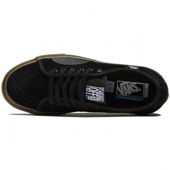 Vans AV Classic Pro Shoes - Black/Gum - 8.0