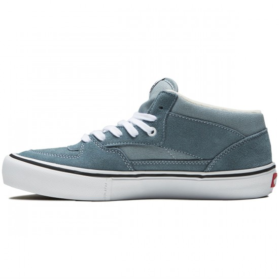 Vans Half Cab Pro Shoes - Goblin Blue/White - 8.0