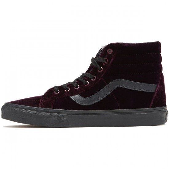 Vans SK8-Hi Reissue Shoes - Red/Black - 8.0