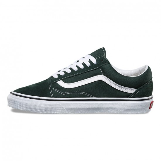 Vans Old Skool Shoes - Scarab/True White - 8.0
