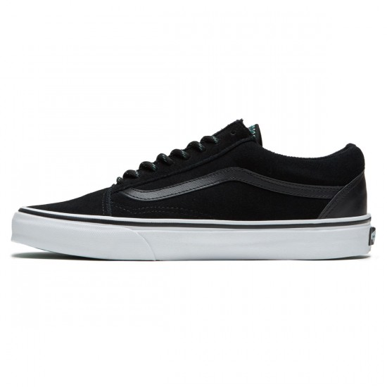 Vans Old Skool Shoes - Black/Wasabi - 8.0