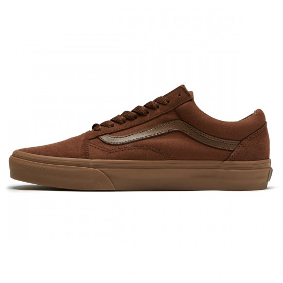 Vans Old Skool Shoes - Dark Earth/Gum