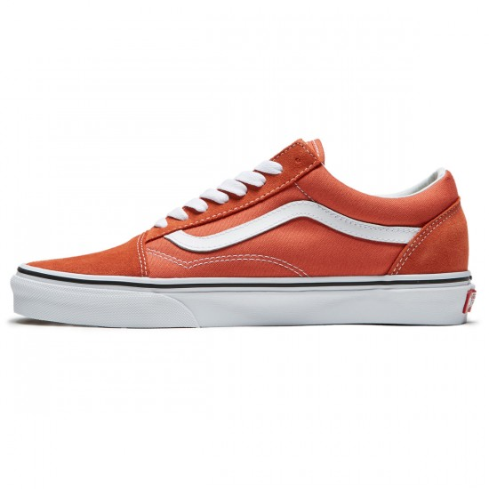 Vans Old Skool Shoes - Autumn Glaze/True White - 8.0