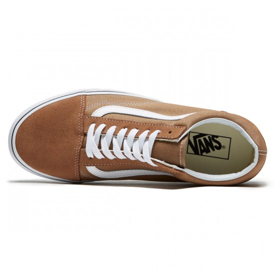 Vans Old Skool Shoes - Tigers Eye/True White - 8.0