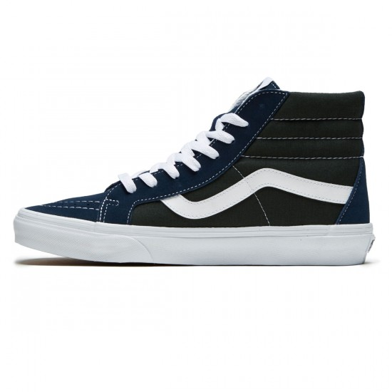 Vans SK8-Hi Reissue Shoes - Dress Blue/Scarab - 8.0