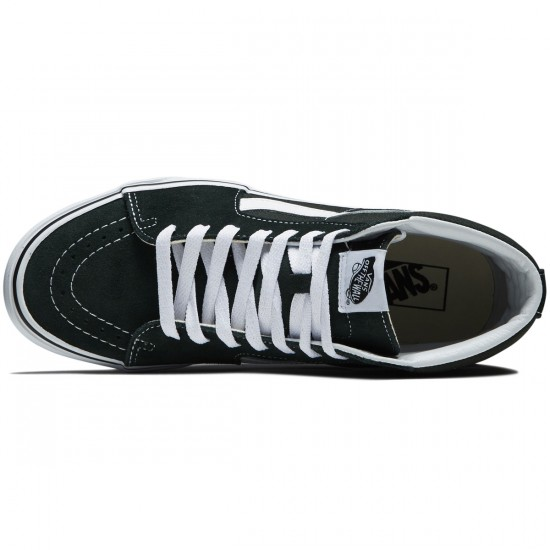 Vans Sk8-Hi Shoes - Scarab/True White - 8.0