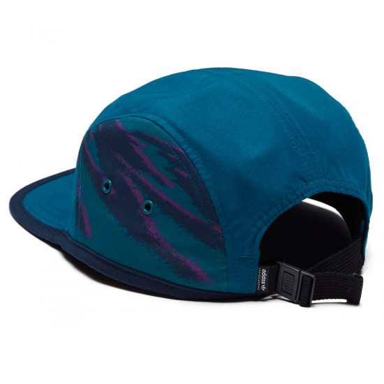 fc6b43c91f0 Adidas Court 5 Panel Hat - Real Teal