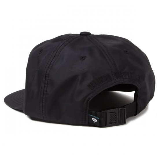 Diamond Supply Co. Yacht Clipback Hats - Black