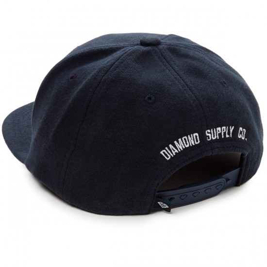 Diamond Supply Co. Un Polo Snapback Hat - Heather Navy