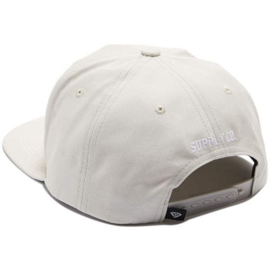 Diamond Supply Co. Diamond Arch Snapback Hat - Cream
