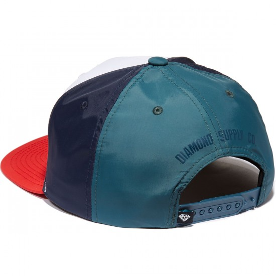 Diamond Supply Co. Mountaineer Snapback Hat - White