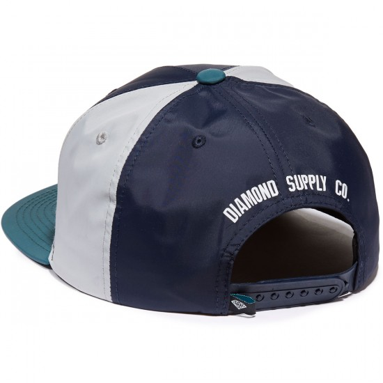 Diamond Supply Co. Mountaineer Snapback Hat - Grey