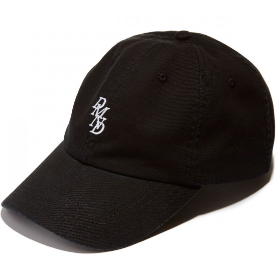 Diamond Supply Co. Serif Sports Strapback Hat - Black