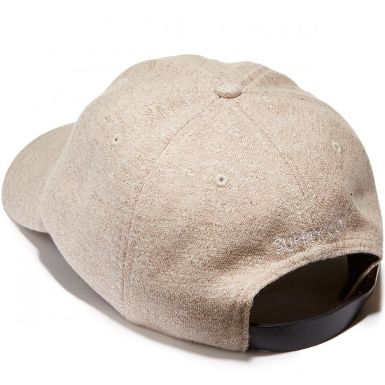 Diamond Supply Co. Serif Sports Strapback Hat - Heather Brown