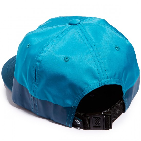 Diamond Supply Co. Peruzzi 6 Panel Clipback Unstructured Hat - Teal