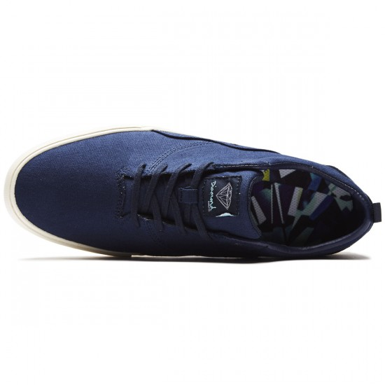 Diamond Supply Co. Lafayette Shoes - Navy Canvas - 8.0