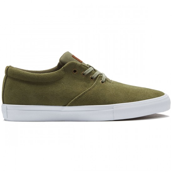 Diamond Supply Co. Torey Shoes - Olive Suede - 8.0