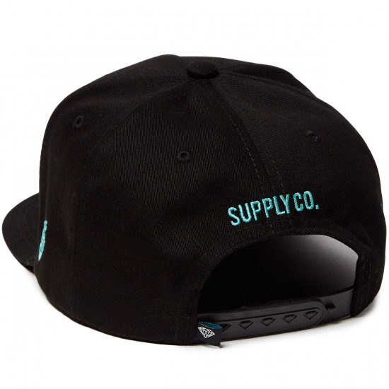 Diamond Supply Co. OG Script Unstructured Hat - Black