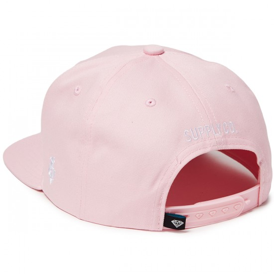 Diamond Supply Co. OG Script Unstructured Hat - Pink