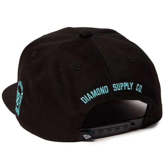 Diamond Supply Co. Brilliant SP 17 Snapback Hat - Black