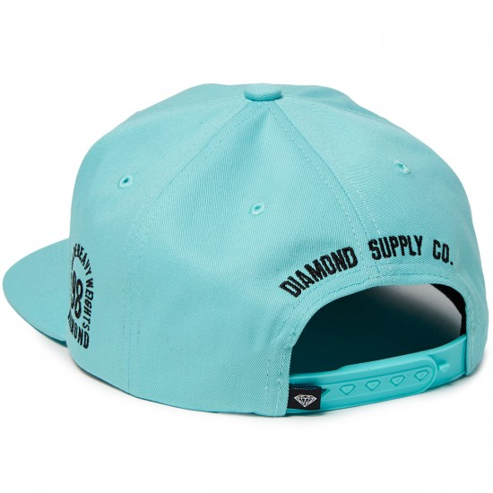 Diamond Supply Co. Brilliant SP 17 Snapback Hat - Diamond Blue