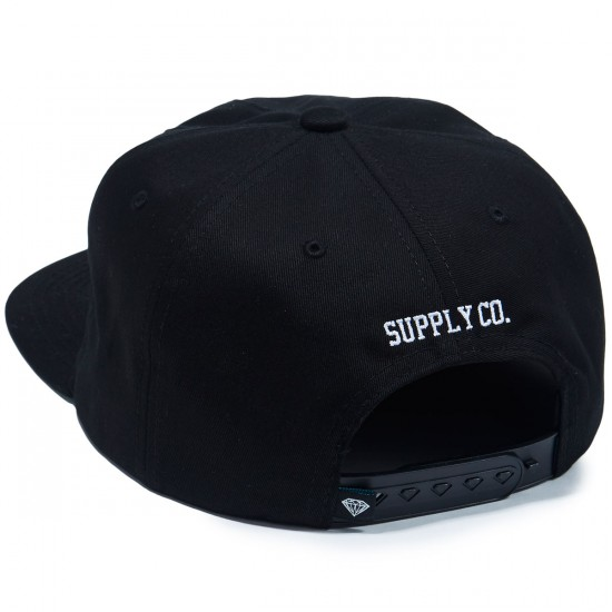 Diamond Supply Co. Skull Unconstructed Hat - Black