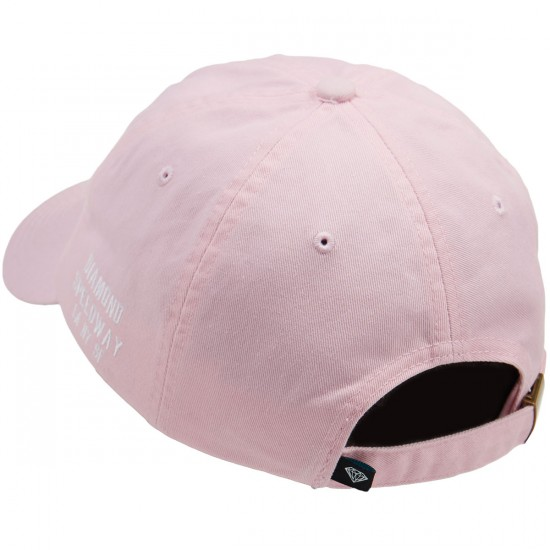 Diamond Supply Co. Micro Brilliant Sports Hat - Pink