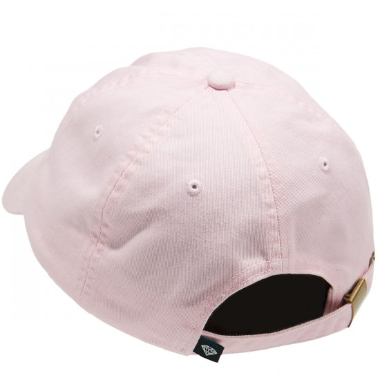 Diamond Supply Co. Champagne Sports Hat - Pink