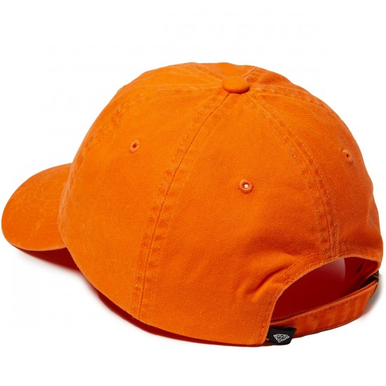 Diamond Supply Co. Leeway Sports Hat - Orange