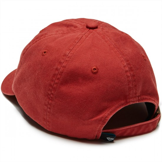 Diamond Supply Co. Leeway Sports Hat - Red