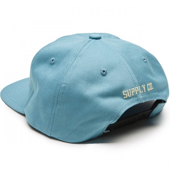 Diamond Supply Co. Og Script Unconstructed Snapback Hat - Blue