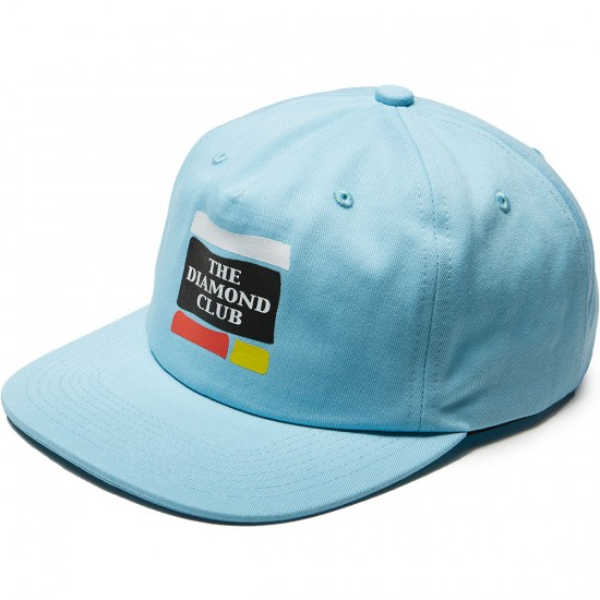 Diamond Supply Co. Members Unconstructed 5-panel Hat - Blue