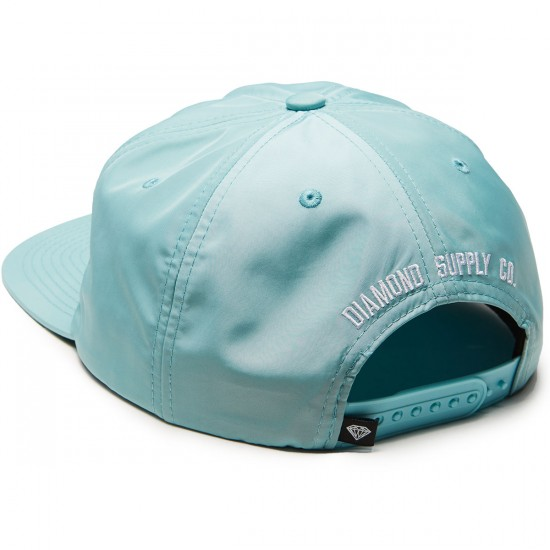 Diamond Supply Co. Un Polo Unconstructed Snapback Hat - Dark Teal