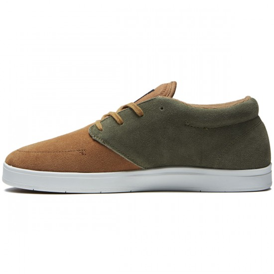Diamond Supply Co. Deck Shoes - Brown/Green - 8.0