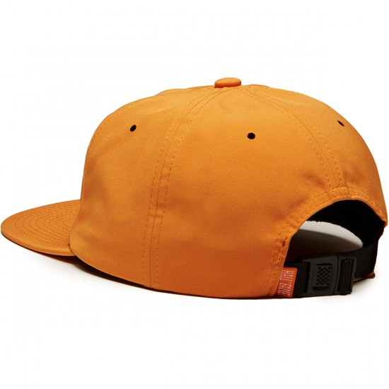 Hall Of Fame Tinted Logo Buckleback Hat - Rust