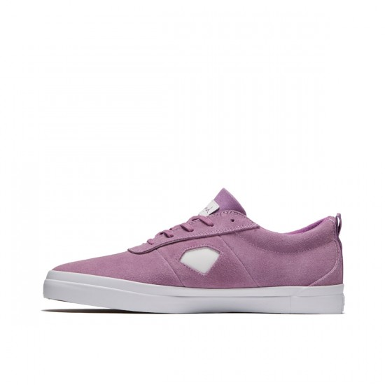 Diamond Supply Co. Icon Shoes - Lavender Suede - 8.0