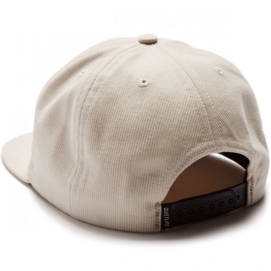 The Quiet Life Cloudy Unstructured Hat - Cream