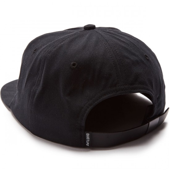 The Quiet Life Camera Club Polo Hat - Black