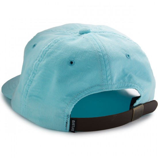 The Quiet Life Bolt Cord Polo Hat - Sky
