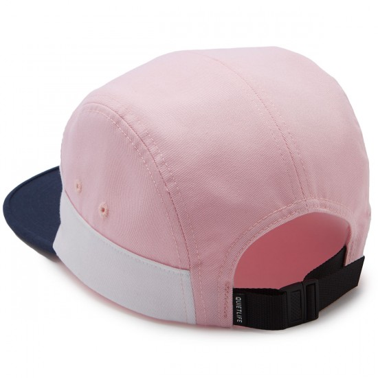 The Quiet Life Solar 7 Panel Hat - Pink/White/Navy