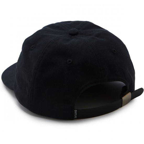 The Quiet Life Smoking Girl Polo Hat - Black