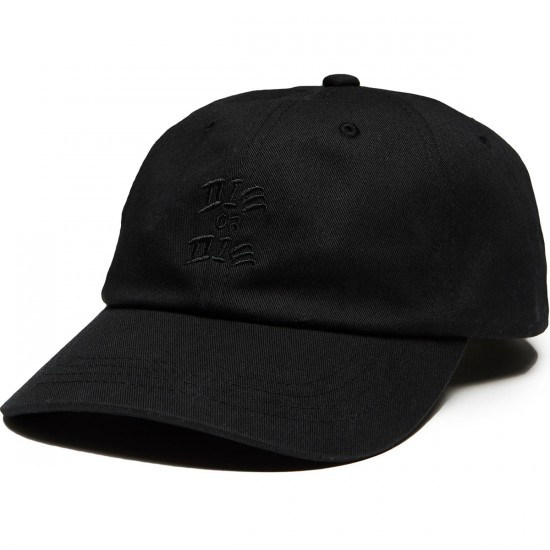 Quiet Life Die Or Die Dad Hat - Black