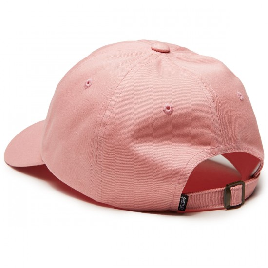 Quiet Life Rose Dad Hat - Pink