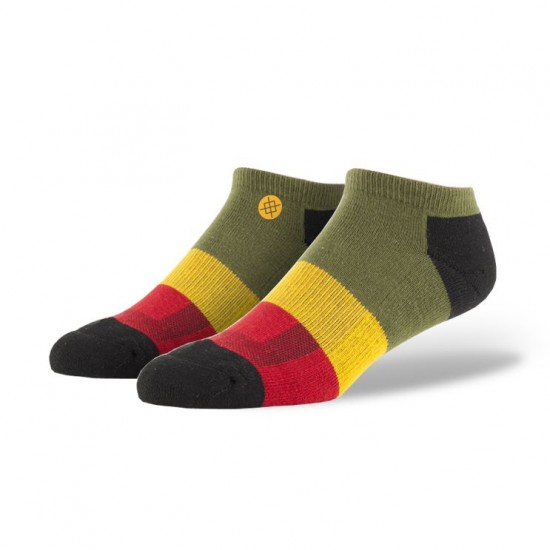 Stance Maytal Low Socks - Rasta