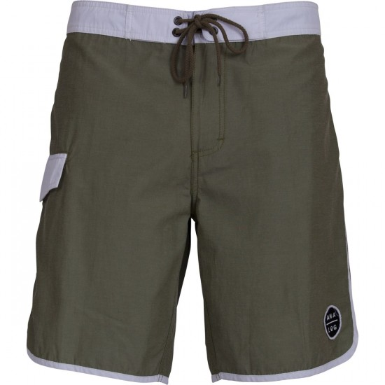 Analog Hammer Boardshorts - Faded Green