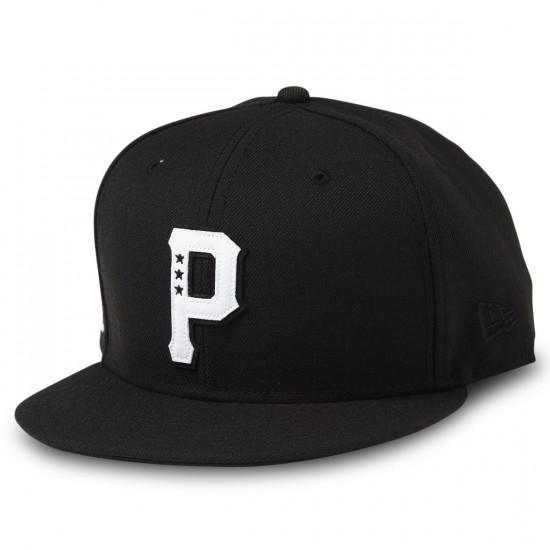 Primitive Timeless P Snapback Hat - Black